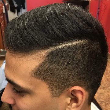 Professional Men's Haircut example image